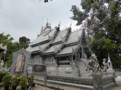 Wat Sri Suphan - the silver temple