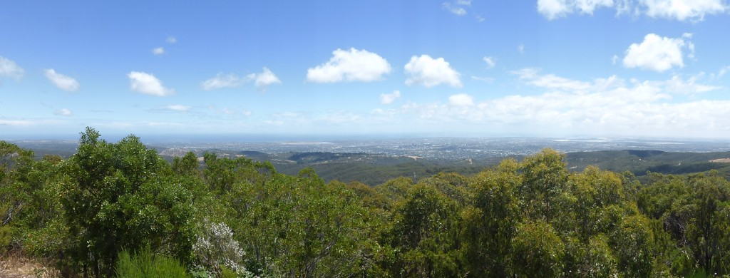 View over Adelaide
